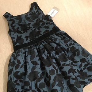 NWT Carter's Rose Floral Girls Dress 3T Bow